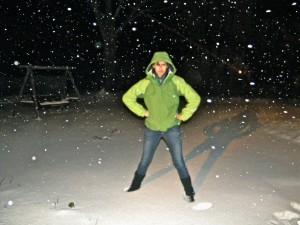 snow in Ohio :P